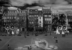 Paris Centre Pompidou Fotografering för Bildbyråer