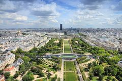 Paris Champ de Mars Royalty Free Stock Photo