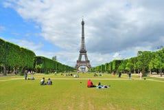 Paris. Champ de Mars Stock Images