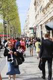 Paris, Champ Elysee street Royalty Free Stock Photography