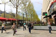 Paris, Champ Elysee street Royalty Free Stock Photos