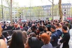 Paris, Champion Elysee-Straße Lizenzfreies Stockbild