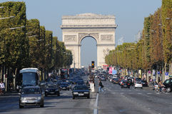 Paris Champs Elysées Stock Photo