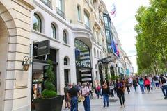 Paris - Champs-elysees Stock Photos