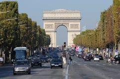 Paris Champs Elysées Stock Photo