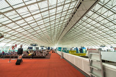 Paris Charles De Gaulle Airport Images libres de droits