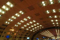 Paris-Charles de Gaulle flygplats Royaltyfri Bild