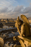 Paris Chimera Royalty Free Stock Photos