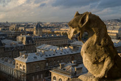 Paris Chimera Stock Image