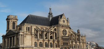 Paris church Royalty Free Stock Images