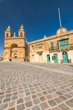 Paris church in Marsaxlokk, Malta.  Stock Image