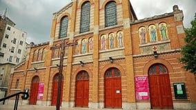 Paris Church Saint Honore of Eylau stock footage