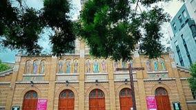 Paris Church Saint Honore of Eylau stock video footage