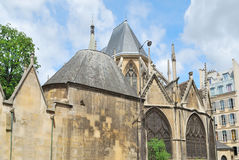 Paris. Church of St. Severin Stock Photo