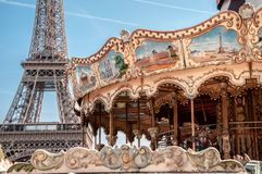 Paris a cidade do amor fotos de stock