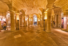 PARIS - CIRCA JUNE, 2014: Interior of Pantheon.  Royalty Free Stock Photos