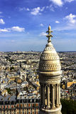 Paris - Circa May 2011: Aerial View of Paris From the Sacre Coeur Basilica III Royalty Free Stock Photography