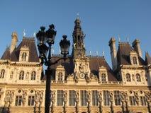Paris city hall Royalty Free Stock Image