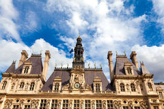 Paris City Hall Stock Photo