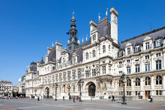 Paris - City hall Royalty Free Stock Photography