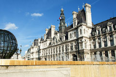 Paris - the city hall Royalty Free Stock Photography