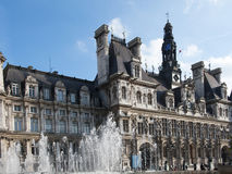 Paris - the city hall Stock Photography