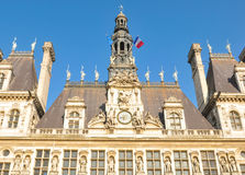 Paris City Hall Royalty Free Stock Photo