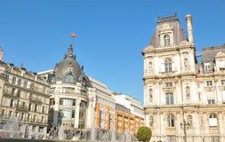 Paris City Hall Royalty Free Stock Photography
