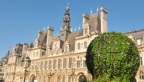 Paris City Hall Stock Image