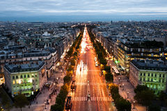 Paris, city of lights Stock Photos