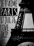 Paris - a city of love and romanticism Royalty Free Stock Photography