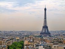 Paris city objects - Eiffel tower. Royalty Free Stock Photography