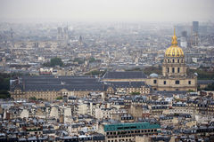 Paris city panoramic view. A modern city by the panoramic view from the Eiffel Tower. full of imagination & challenge, a combination of ancient and modern Stock Photography