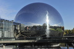 Paris, City of Science and Industry Stock Images
