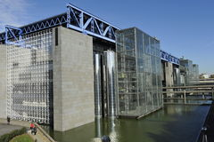 Paris, City of Science and Industry Stock Image