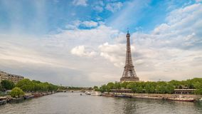 Paris Time Lapse stock footage