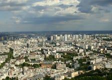 Paris cityscape Stock Photography