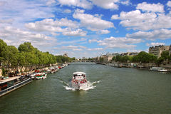 Paris cityscape. Royalty Free Stock Photo