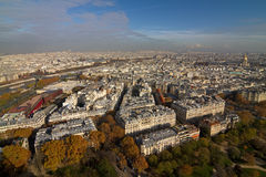 Paris Cityscape Stock Photos