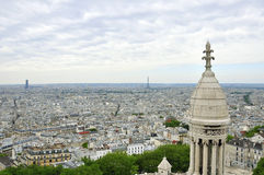 Paris cityscape Royaltyfria Foton