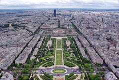 Paris cityscape Royalty Free Stock Photography