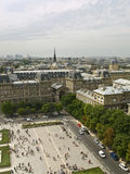 Paris Cityscape Stock Photography