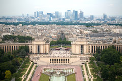 Paris cityscape Royalty Free Stock Photos
