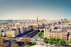 Paris cityscape Stock Photo