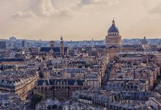 Paris cityscape in daytime Royalty Free Stock Photo