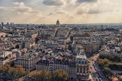 Paris cityscape in daytime Royalty Free Stock Images