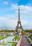 Paris cityscape with Eiffel tower. royalty free stock image
