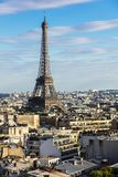 Paris cityscape with Eiffel Tower. Paris, France Royalty Free Stock Photography