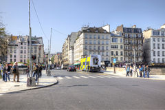 Paris, cityscape Royalty Free Stock Photos
