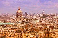 Paris cityscape Stock Images